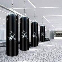 60 см/80 см/100 см/120 см искусственная кожа полые боксерская груша с песком сумка, тайская боксерская груша с песком сумка, фитнес-боксерская груша с песком сумка W4-128