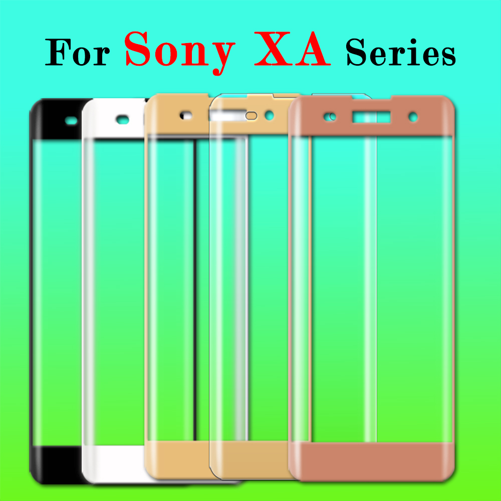 Mobile Phone Accessories 3d Full Cover For Sony Xperia Xa1 Ultra Glass Tempered For Sony Xperia Xa1 Plus Screen Protector Protective Glas Phone Film 9h Fine Craftsmanship