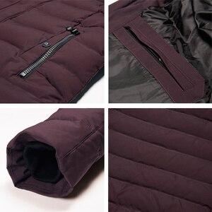 Image 5 - ICEbear 2019 new mens winter  jacket warm detachable hat male short coat fashion casual apparel man brand clothing MWD18813D