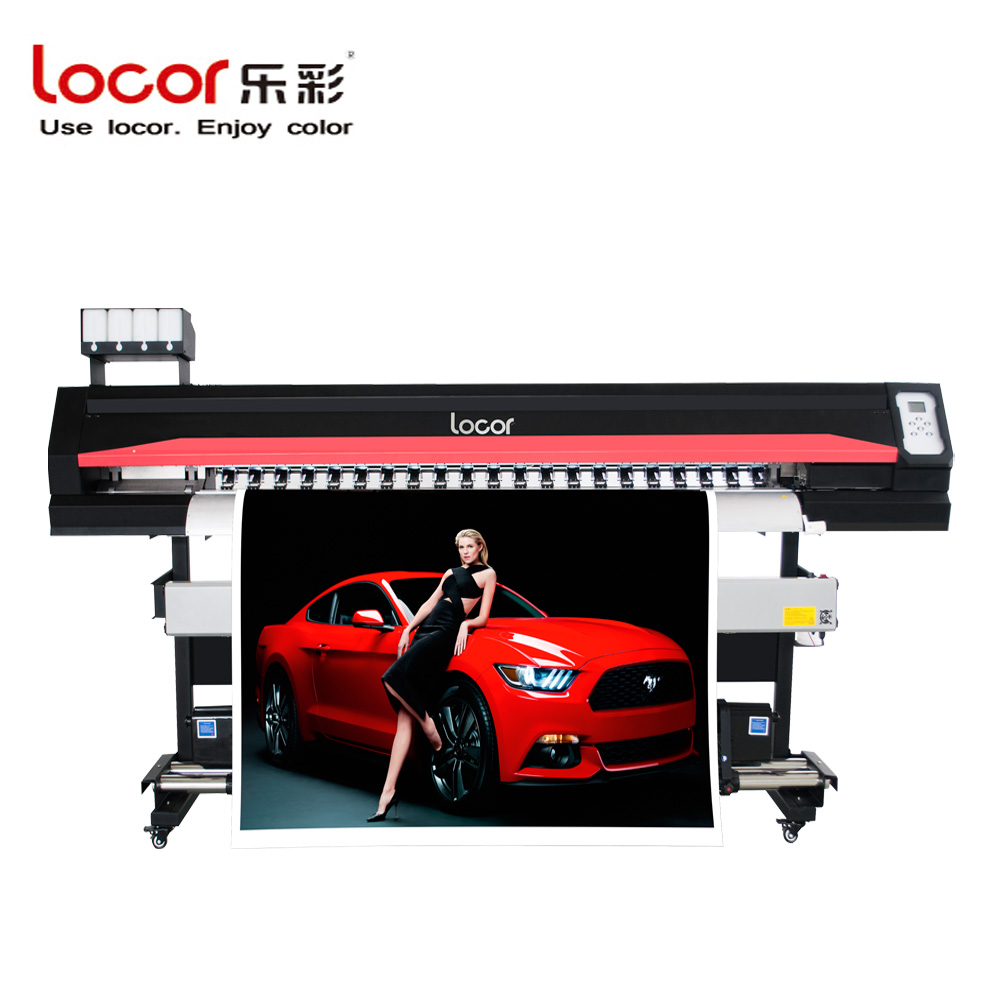 Locor Printer Plotter 1.8m Outdoor Inkjet Digital Vinyl Sticker Large Format Printing Machine Eco Solvent Plotter Printer DX5