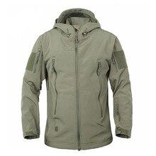 2018 Army Camouflage Coat Military Jacket Waterproof Windbreaker Raincoat   Army Men Outerwear Jackets Coats Dropshipping