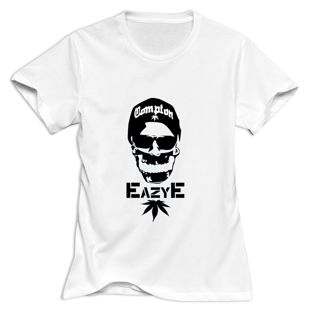 High quality eazy e t shirt skateboard 100 cotton women for Good quality cotton t shirts