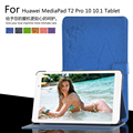 "For Huawei MediaPad T2 Pro 10 FDR-A01W/FDR-A03L 10.1"" Tablet Printing Pattern Stand Cover Protective Print Flower Leather Case"