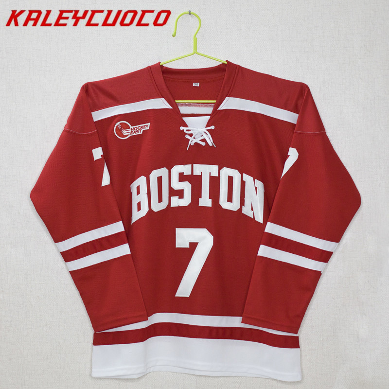 best website 9f162 ccc31 Boston University #7 Charlie McAvoy Stitched Hockey Jersey-in Hockey  Jerseys from Sports & Entertainment on Aliexpress.com   Alibaba Group