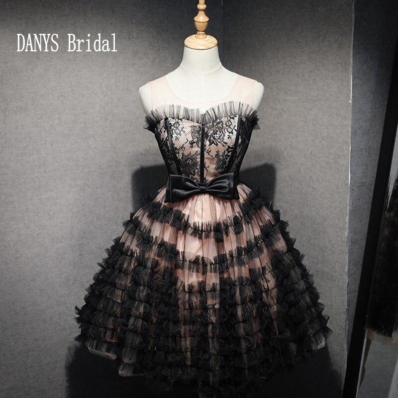 Sexy 8th Grade Short   Prom     Dress   Mini 2017 Black   Prom     Dresses   for Graduation Fast Shipping