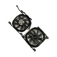 2 pçs/set CF-12815B/S Cartão GPU GeForce GTX Ventilador Cooler Para INNO3D 1070Ti X2 V2 GTX 1070 GTX V4 750TI GTX 750 GTX 660 placa gráfica