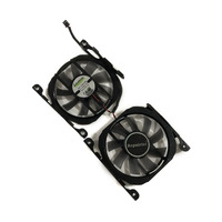 2pcs/set CF 12815S GPU Card Cooler Fan For INNO3D GeForce GTX 1070Ti X2 V2 GTX 1070 V4 GTX 750TI GTX 750 GTX 660 graphics card