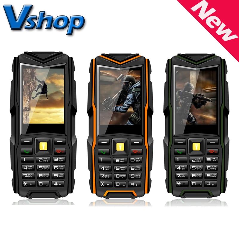 VKWorld Stone V3 2.4'' inch Waterproof / Dropproof / Dustproof Mobile Phone RAM 64MB ROM 64MB Support Dual SIM Bluetooth FM GSM
