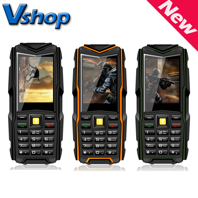 VKWorld Stone V3 2.4'' inch Waterproof / Dropproof / Dustproof Mobile Phone RAM 64MB ROM 64MB Support Dual SIM Bluetooth FM GSM
