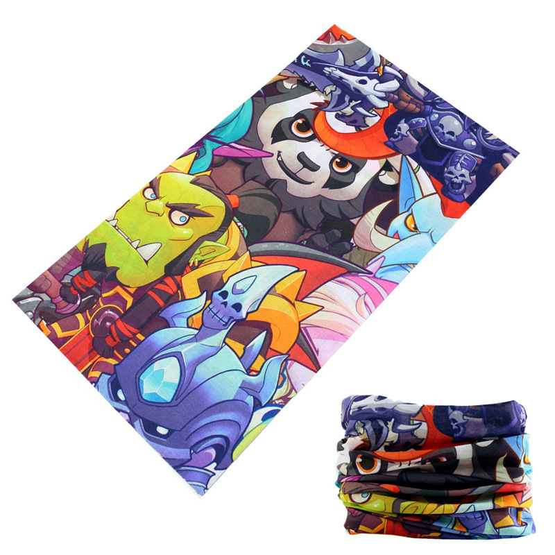 Apparel Accessories Outdoor Dustproof Breathable Sunscreen Head Scarves Skull Mouth Cod Ghosts Mask Modis Bandana Women Mens Shawls Hijab Coolsjaal