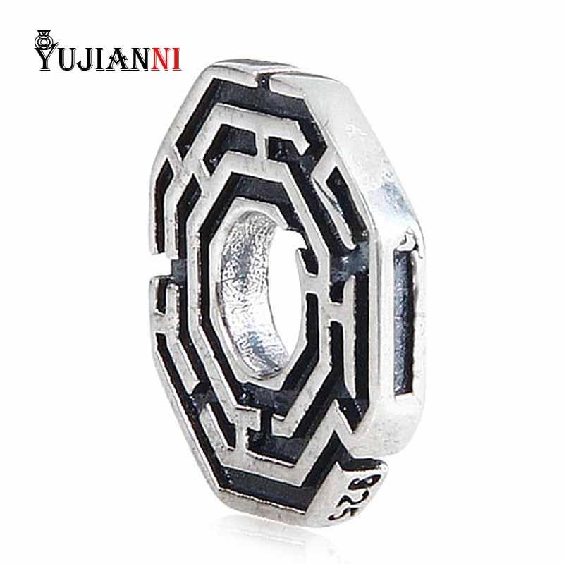 925 Sterling ezüst labirintus gyöngyöt ékszer készítéséhez - Divatékszer