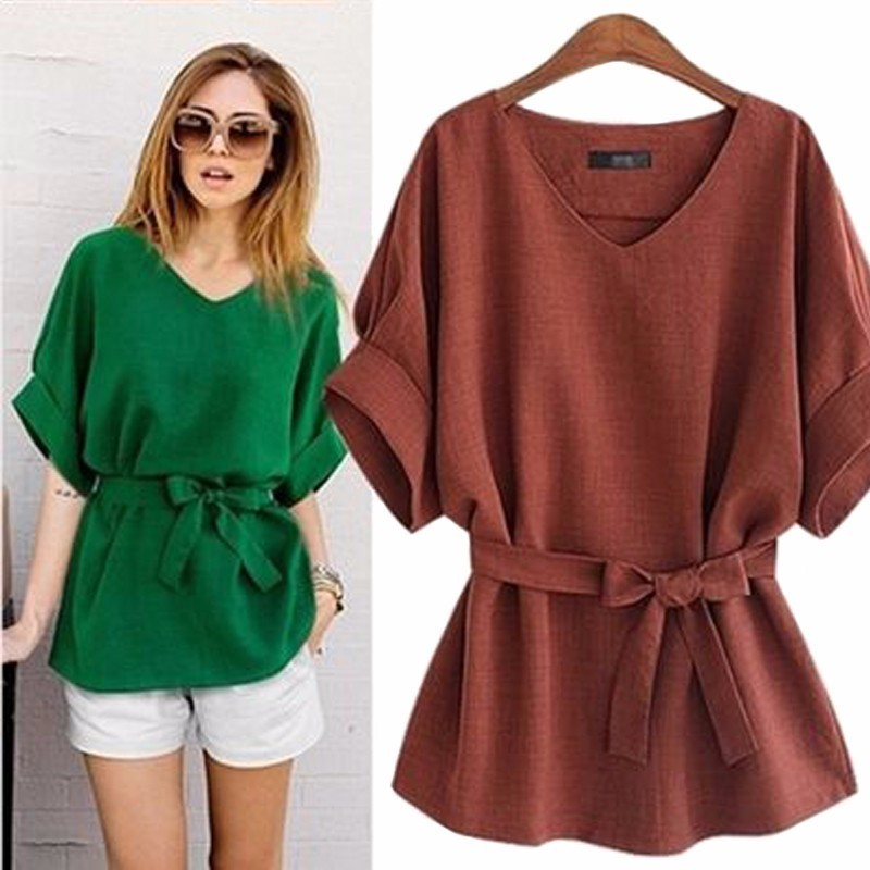 ENXI 2018 Female T-shirt Plus Size Womens Top Clothes For Pregnant Women Solid Fashion T ...