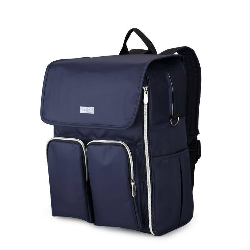 섬세 한 다기능 기저귀 가방 패션 패치 워크 엄마 - 기저귀 및 화장실 훈련