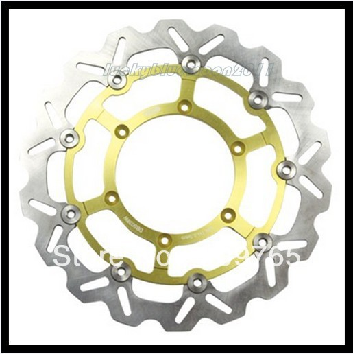 Free shipping New Racing Front Brake Disc Rotor Rotors For SUZUKI DRZ 400 SM 2005 06 07 2008 2009 DRZ SM free shipping free shipping front