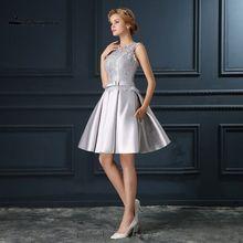 Sexy Sleeveless Mini Kleine Homecoming Kleider A-linie Robe de Cocktail Lace Up cocktailkleider Kurze Party Kleider