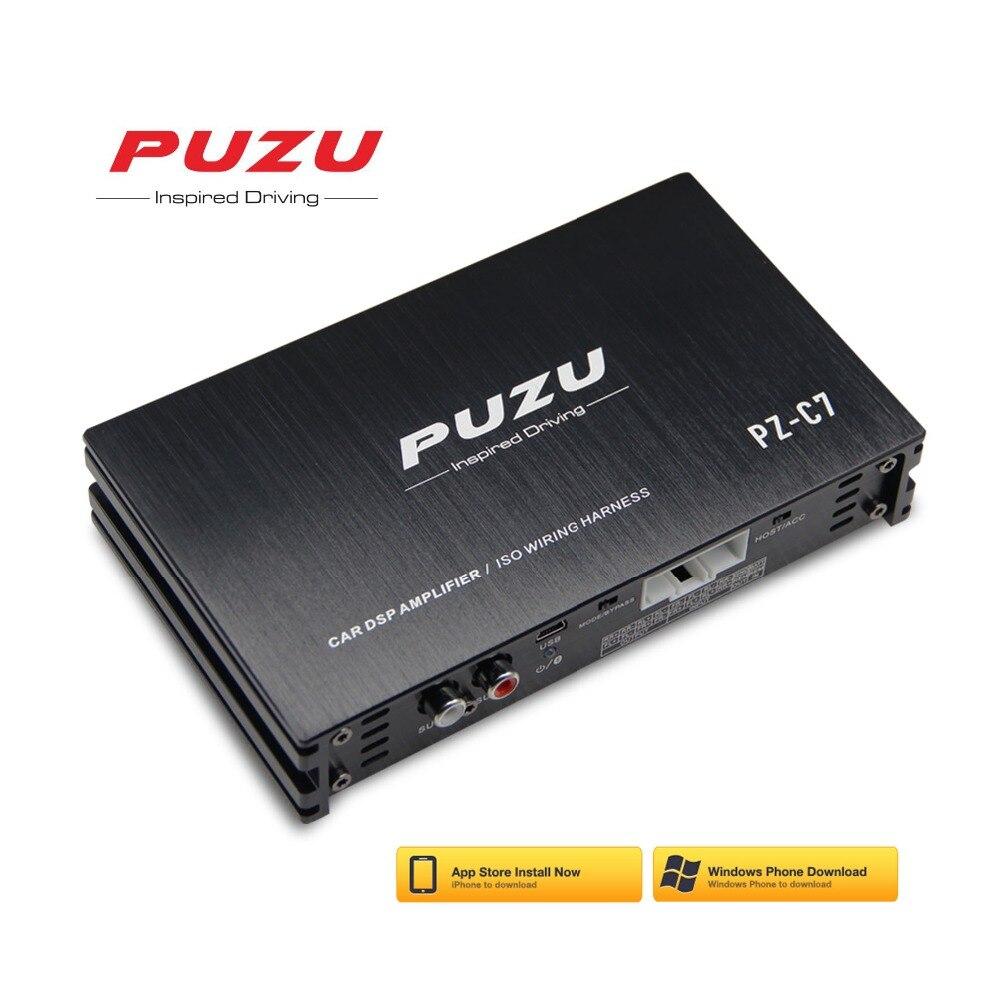 Arnés de cableado 4X150W amplificador DSP para coche con Software android app Actualización de sonido de radio para coche Procesador de señal de audio digital