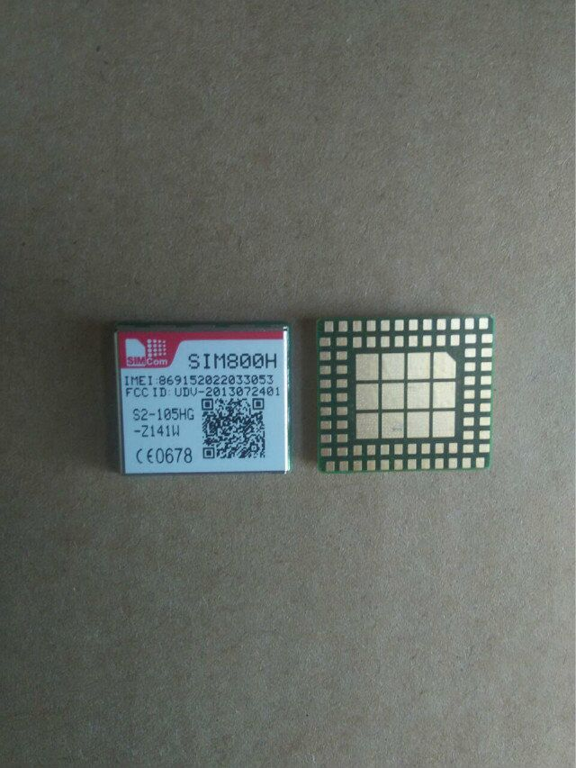 5PCS/LOT SIM800H 100% new original distribut ROHS BAND SMD SFF GSM/GPRS GPS  MMS Moudle Free Ship Emax JINYUSHI stock-in Integrated Circuits from