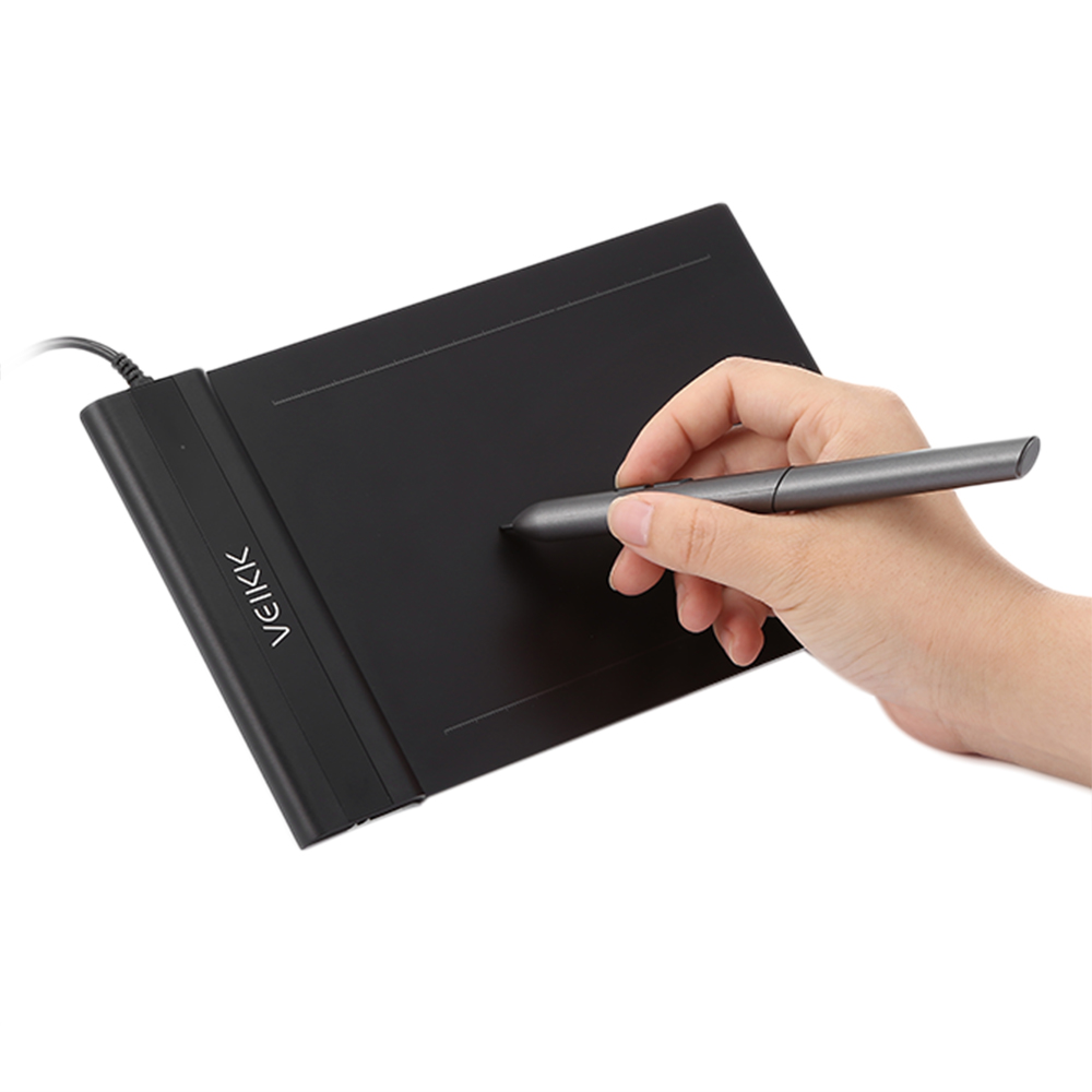 VEIKK S640 Graphics Drawing Tablet 6x4 Inch Tablet With Battery-free Pen Digital