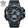 New SMAEL Brand Sport Watch for Men Waterproof LED Digital Wristwatch S Shock Watch Quartz montre homme relogio masculino WS1376