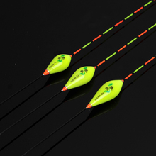 3pcs/lot Vertical Fishing Float Set Composite Nano Ice Bobber Boya Pesca Carp Floats Accessory