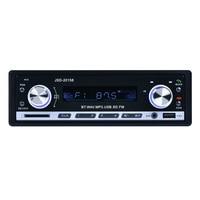 1 Din Car Radio No Screen Car Mounted Player Bluetooth Car Kit Speaker MP3 Card Machine U Disk Machine Bluetooth Phone Display