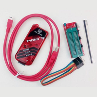 FREE SHIPPING PIC ,PIC Kit 3 PICKit3 programer,PIC Simulator Kit3+USB cabel+6Pin Cable+CD