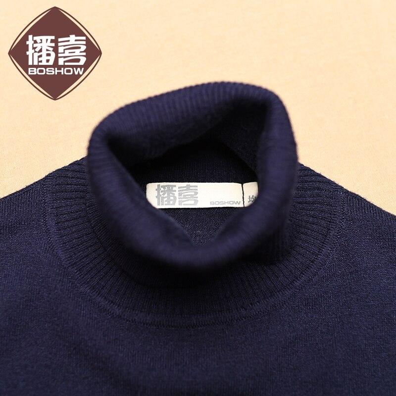 Envío Gratis nueva moda 2019 vestidos largos de media pantorrilla para mujer invierno cálido estilo chino cuello alto bordado vestidos - 5
