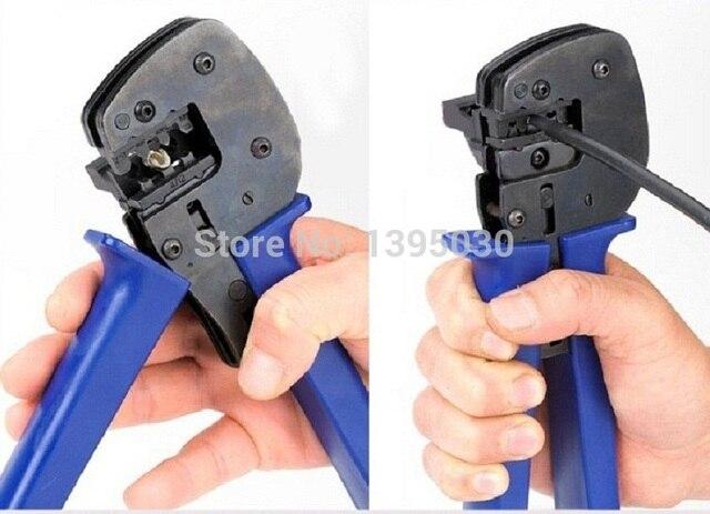 3 개/몫 mc4 mc3 솔라 크림 핑 도구 크림프 2.5/4/6mm2 pv 케이블 커넥터 A-2546B