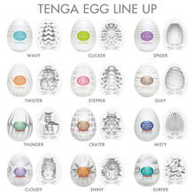 Tenga Eggs Male Masturbation Masturbator Realistic Vagina Big Dildo Adults G-spot Sexy Toys Stimulating Penis Massager Sex Shop(China)