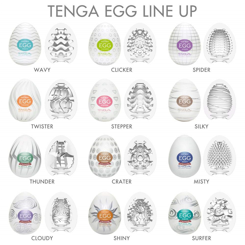 Tenga <font><b>Eggs</b></font> Male Masturbation Masturbator Realistic Vagina Big Dildo Adults G-spot Sexy Toys Stimulating Penis Massager <font><b>Sex</b></font> Shop image