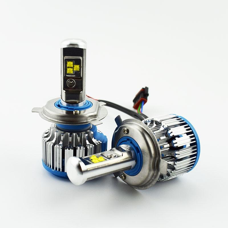 2pcs Car Headlight Bulb Cree LED chip 12V 6000K 80W Hi Lo Beam Automobile head Light Lamp Auto headlamps H11 H4 H7 9005 9006 H1 перфоратор кратон rhe 900 30