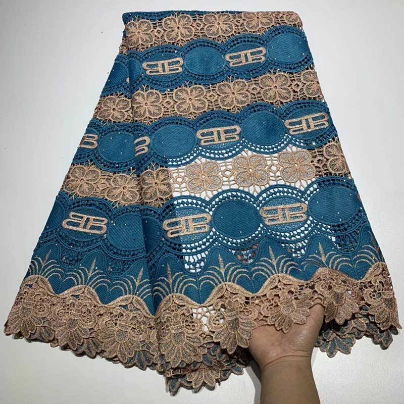 Dark Blue New Design Swiss Voile Lace African Lace Fabric Nigerian Cord for Wedding 2019 High