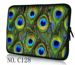 Перо павлина Laptop Sleeve сумка для Xiaomi Asus Dell hp acer lenovo Macbook Air Pro 11 12 13 14 15,4 15,6 17 Surface pro