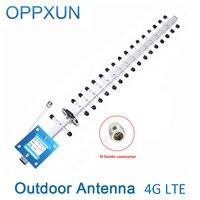 4G Antenna Yagi External Antenna LTE2600Mhz Outdoor Antenna 20dBi Phone Signal Accept Antenna For 4G Signal