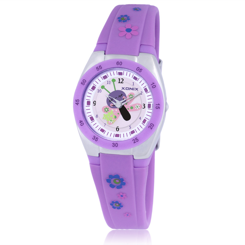 Brands Precision Watch Cartoon Juice Boys And Girls Children Baby Doll Sports Watch Student Women Waterproof Quartz Watch women quartz watch with cartoon ribbon