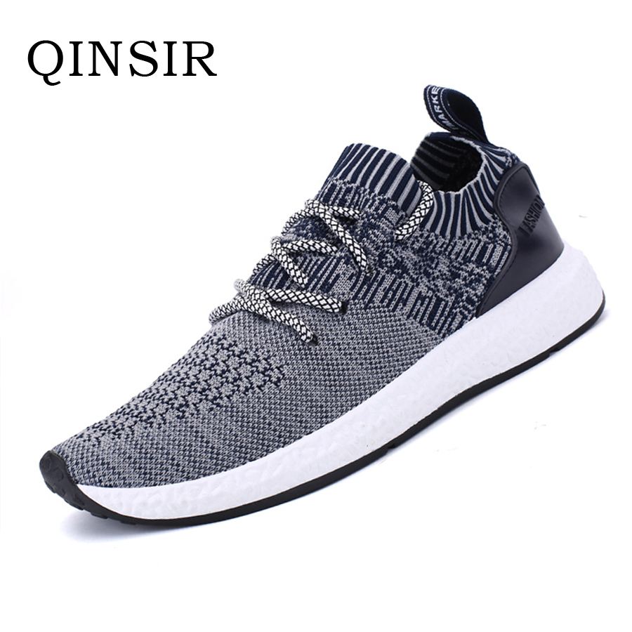 Mens Plus Size Shoes Casual Shoes Summer Breathable Lace up Flats Fashion Male Footwear Mesh Masculino Zapatos Hombre Sapatos pinsen fashion women shoes summer breathable lace up casual shoes big size 35 42 light comfort light weight air mesh women flats