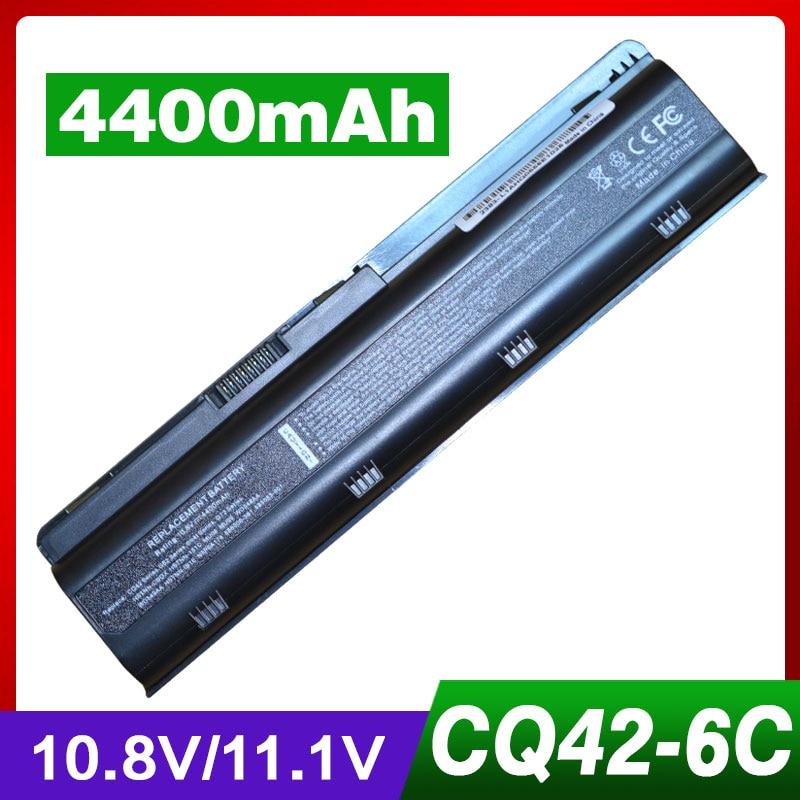 11.1V batería para HP mu06 G6 CQ42 CQ62z-300 593553-001 HSTNN-YB0W 593554-001 CQ42-100 CQ42-200 CQ42-200 CQ43-100 CQ43-200 G7
