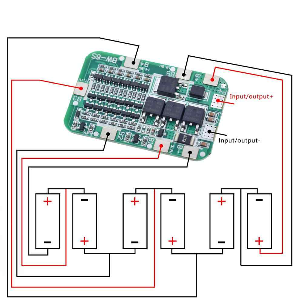 Detail Feedback Questions about TZT 6S 15A 24V PCB BMS
