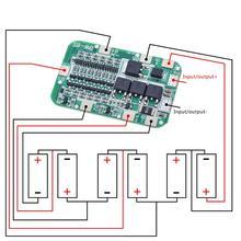 TZT 6S 15A 24V PCB BMS Ban Bảo Vệ Cho 6 Gói 18650 Li ion Pin Lithium Cell Mô Đun Mới xuất Hiện