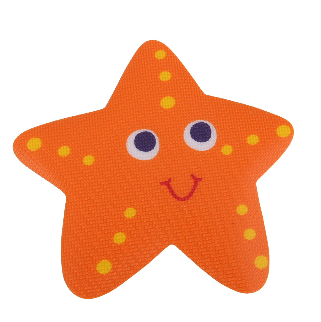 5x Baignoire Antidérapant Famille Sécurité Marches Salle De Bains Autocollant Applique Décalque Starfish pour Douches Baignoires Chaude Bateaux Accessoires De Sécurité