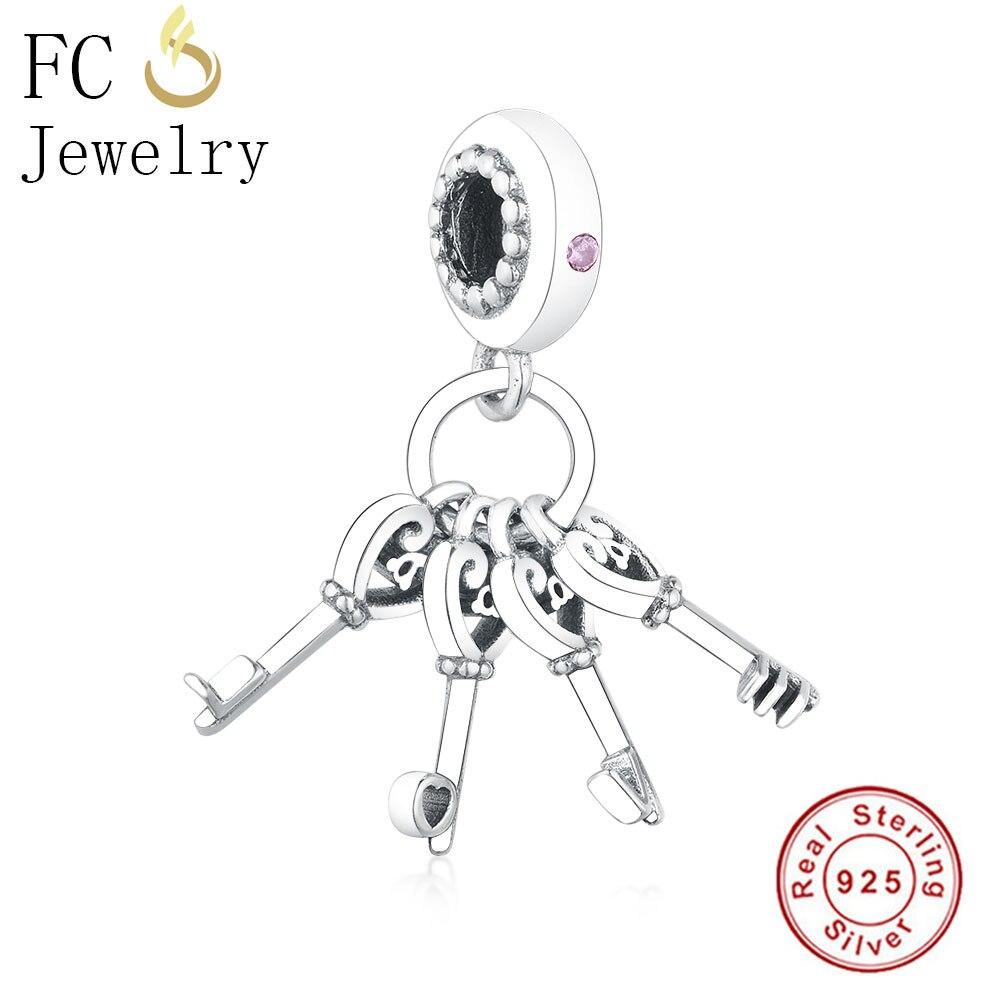 ALI shop ...  ... 32911108255 ... 4 ... FC Jewelry Fit Original Pandora Charm Bracelet 925 Sterling Silver Italy Pasta Food Fork Mr Bow Tie Beads Pendant Berloque Gift ...
