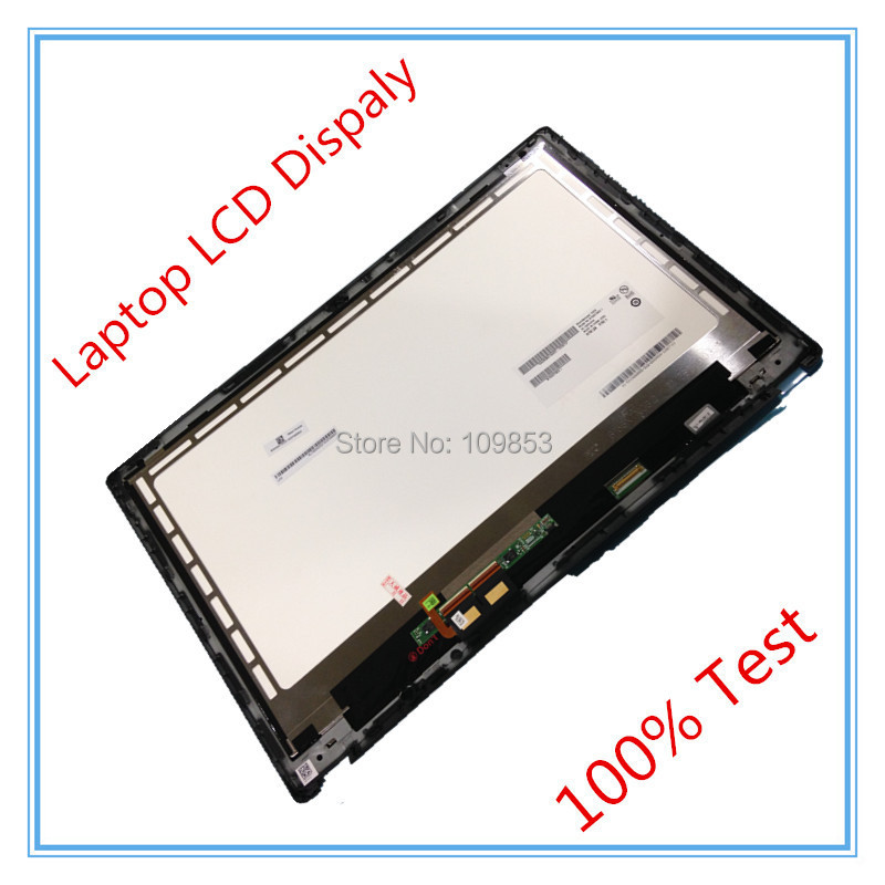 15.6''LCD SCREEN for Acer V5-571P V5-571PGB  V5-571 LCD  Assembly LCD PANEL B156XTN03.1 TOUCH DIGITIZER with Frame new 15 6 for acer aspire v5 571 v5 571p v5 571pg v5 531p touch screen digitizer glass replacement frame