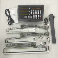 High accuracy 3 axis drill / lathe / milling machine digital readout DRO and 3 pieces linear scales / linear sensors dro system