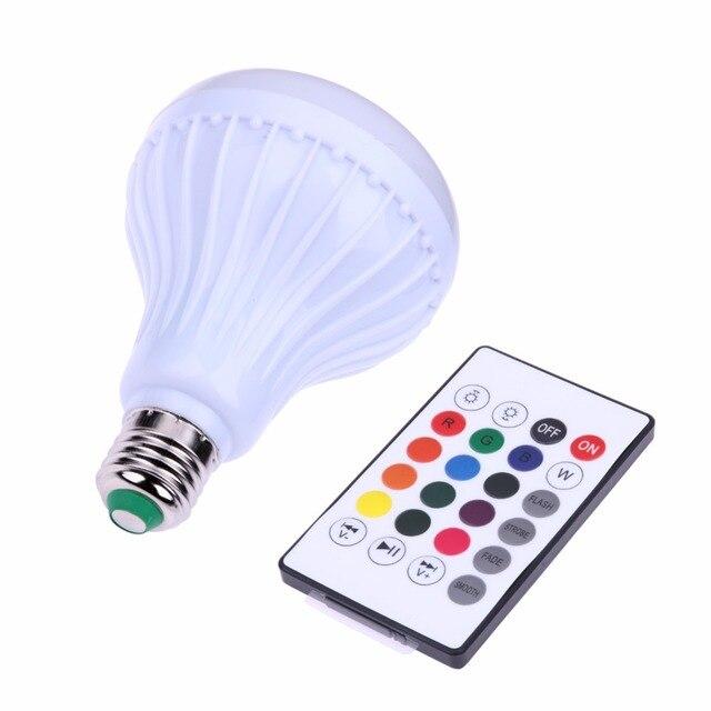 24 Schlüssel 12 Watt E27 Smart LED Licht Lampe Fernbedienung ...