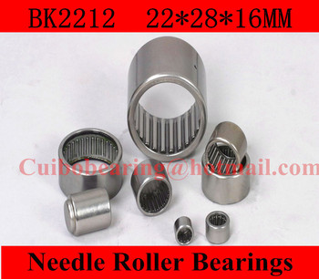 Free shipping  BK2212 Drawn cup Needle roller bearings 35941/22 the size of 22*28*12mm