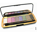 2016 Fashion Golden Brilliant 8-Color Shadows Diamond Nature Nude Makeup High Quality Eyeshadow Free Shipping