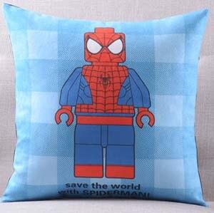 Америка супер герой Супермен Человек паук Железный человек чудо-подушка с изображением Женщины чехлы на диван сиденье бархатное покрытие для подушки наволочка - Цвет: E