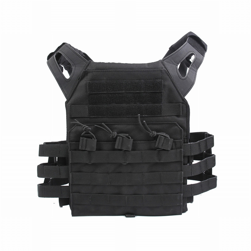 1000D Molle JPC Tactical Vest Simplified Version Military Paintball Chest Protective Plate Carrier Vest Airsoft Chest Rig guano apes cologne