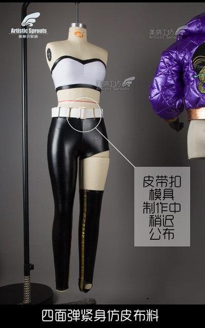 2019 Hot New!!LOL Idol singer new skin KDA Kali High Quality cosplay costume New dress 4