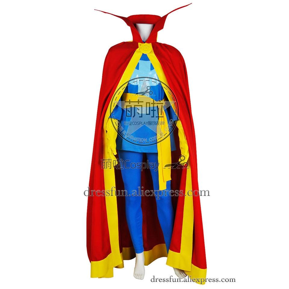 Стивен Винсент странный Косплэй Доктор Стрэндж костюм новая версия мужской взрослые COS модная одежда Быстрая доставка красивые тонкие